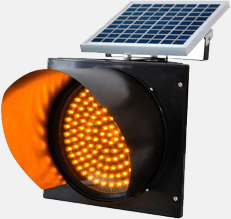 módulo piscante solar semafórico